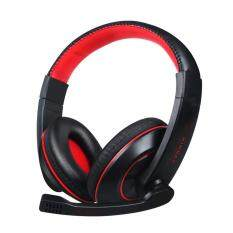 Niceeshop Soyto 722 3.5mm Game Gaming Headphone Headset Earphone Headband With Mic For Pc (black) By Nicee Shop.