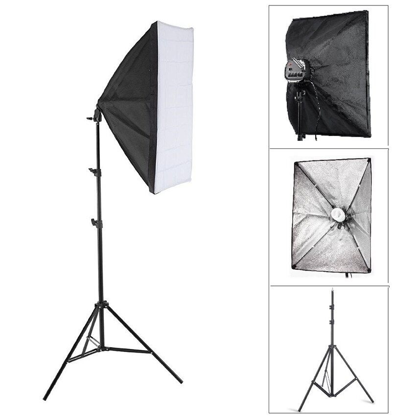 Discount Nicetech Photo Studio Lighting Softbox Video Light Kit 50 70Cm Light Stand Intl Nicetech Singapore