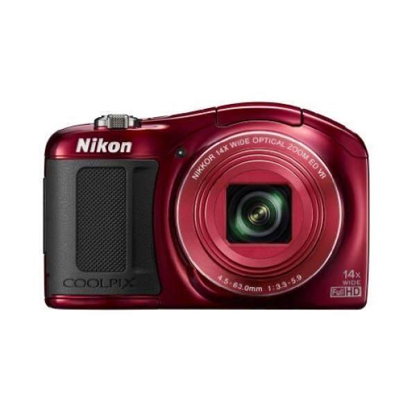 Nikon Coolpix L620 18.1 MP Kamera Digital CMOS dengan 14x Lensa Variabel dan Penuh 1080 P HD Video (Merah) (Dihentikan Oleh Produsen)-Intl