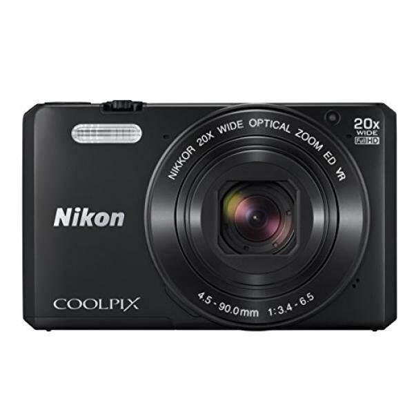 Nikon Coolpix S7000 16 Kamera Digital MP dengan 20x Optik Gambar Stabil Zoom 2-Inch LCD (Hitam)-Intl