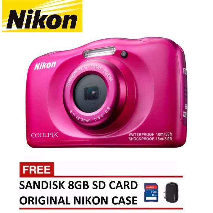 Nikon CoolPix W100 Digital Camera (Nikon Malaysia Warranty)