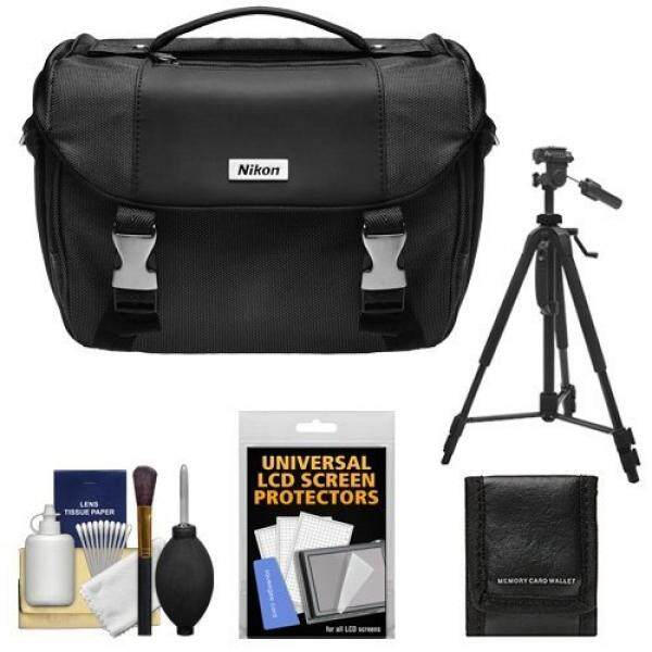 Nikon Deluxe Digital SLR Camera Case - Gadget Bag with Nikon 60