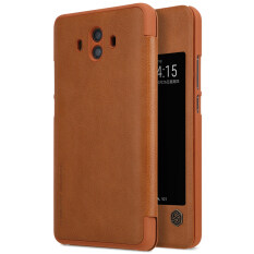 Nillkin Qin Series Premium Ultra Thin Leather Flip Cover Case For Huawei Mate 10 Phone Bag Shell Cases On China