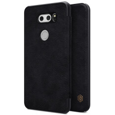 Price Nillkin Qin Series Premium Ultra Thin Leather Flip Cover Case For Lg V30 Phone Bag Shell Cases With Card Pocket On China