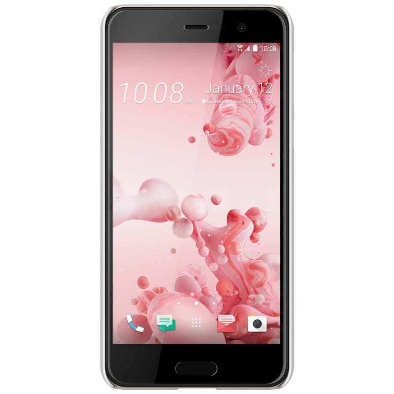 Myzone NILLKIN Super Frosted Cover Hard PC Case for HTC U Play - White