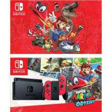 Nintendo Switch Mario Odyssey Bundle 1 Game Price Online