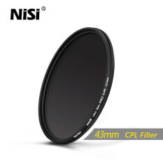 Nisi 43mm Cpl Filter Dus Slim Professional Ultra Thin C-Pl Filters Polarizer Filter By Shenzhen Science Intelligent Co Ltd.
