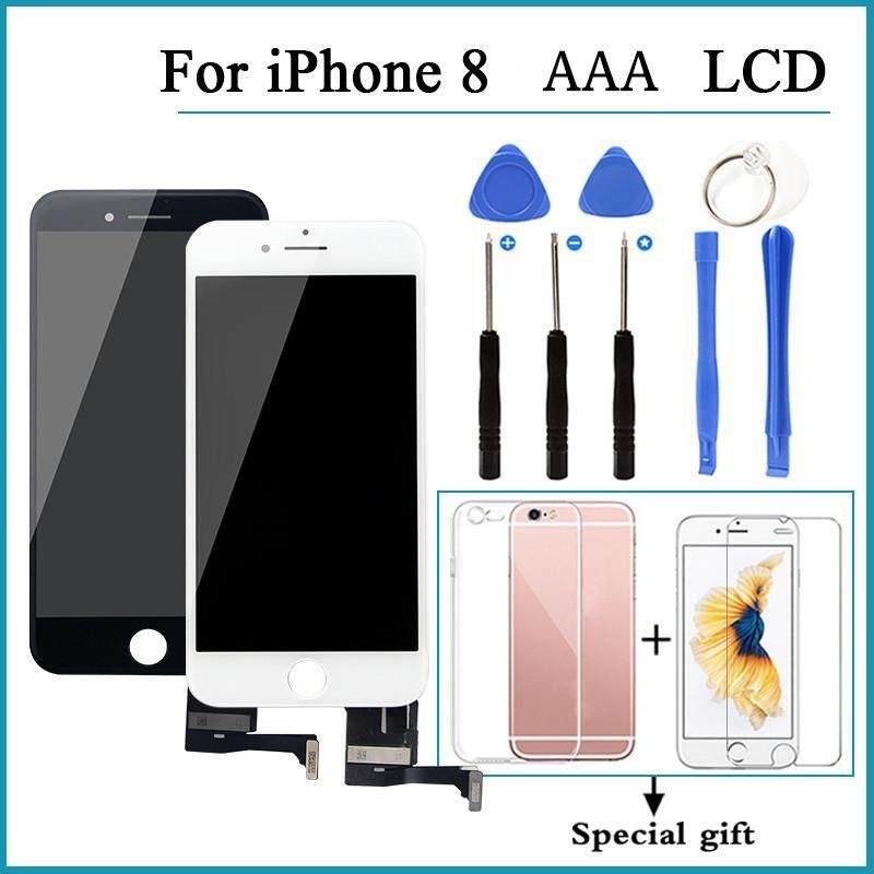 Tidak Ada Pixel Yang Mati LCD untuk iPhone 8 Layar Pengganti Grade AAA LCD-Intl