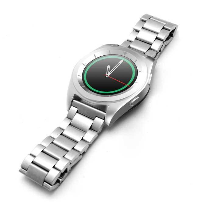 ... NO.1 G6 Bluetooth 4.0 Heart Rate Monitor PSG Smart Watch(Steel Band) ...