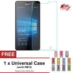 Nokia 5 Premium Tempered Glass + FREE Universal Rubber Case