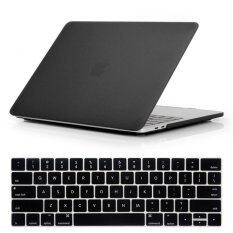 Northjo 2 In 1 Rubberized Protective Matte Hard Shell Case And Keyboard Cover For Apple Macbook Pro 13 Inch With / Without Touch Bar And Touch Id - Model: A1989/a1706/a1708 (black) By Beiqiao Technology.