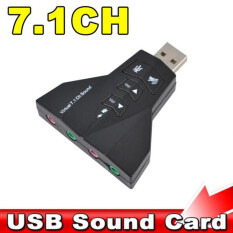 NOYOKERE Microphone MIC Headset 7.1 Ch 3D Audio Card Converter Double Sound Card Virtual 7.1 Channel USB 2.0 Audio Adapter Dual Malaysia