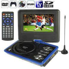 Ns-789 7.0 Inch Tft Lcd Screen Digital Multimedia Portable Evd / Dvd With Card Reader & Usb Ports, Support Analog Tv (pal / Ntsc / Secam) & Game Function, 270 Degree Rotation, Support Sd / Ms / Mmc Card, Blue(blue) By Puluz.