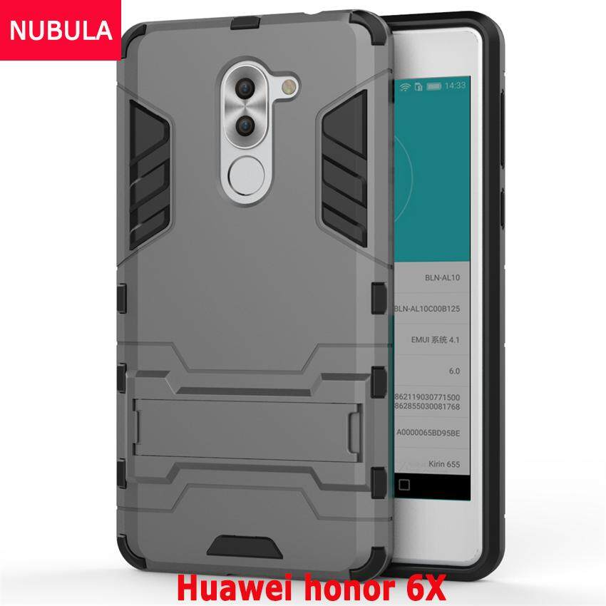Shockproof Dual Layer Hybrid Armor Protective Cover with Kickstand Case . Source ·