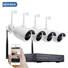 Oppoon Nvr Kits Plug And Play 4ch 1080p Nvr Cctv System Hd 960p Ip Camera Wireless Surveillance Wifi Kits P2p Outdoor Ir Night Vision By Oppoon Store.