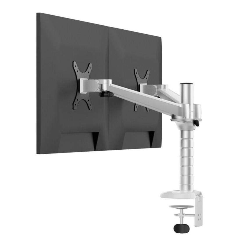 AirSky OA-4 Aluminum Alloy Dual Monitor Holder Full Motion Monitor Mount Arm Stand Base - intl