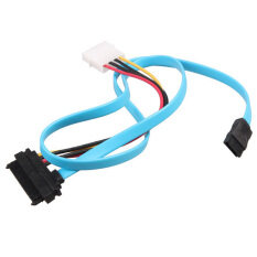 OEM 7 Pin SATA Serial ATA to SAS 29 Pin and 4 Pin Power Adapter Connector Cable