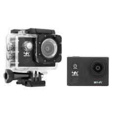 F60 4K Action Camera 16MP 170 Degree Wide Angel Sports DV Waterproof US Plug - intl