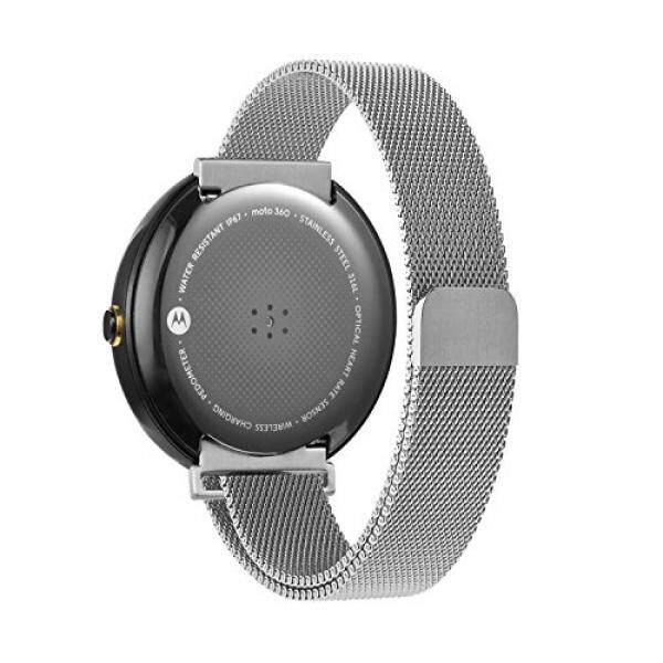 Oitom Watch bands Stailess Steel Milanese Magnetic Loop for Motorola Moto 360 1st 2014 Smartwatch (Silver) - intl