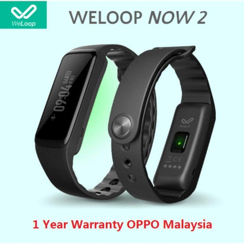 Olike WeLoop Now2 Smart BAND (Black) Original มาเลเซียชุด