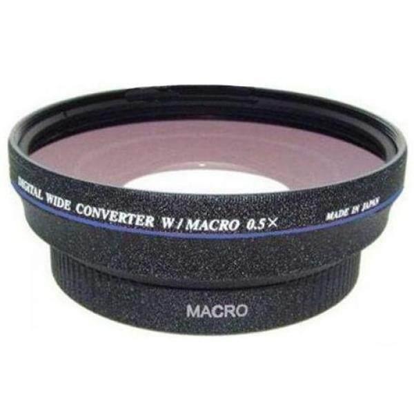 Olympus TG-5 (Definisi Tinggi) 0.5x Sudut Lebar Lensa dengan Makro + Lensa Adapter + Krusell Multidapt Tali Leher (Hitam Finish)-Intl