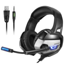 Onikuma K5 Best Gaming Headset Gamer Deep Bass Gaming Headphones For Computer Pc Ps4 Laptop With Microphone Led Light By Blingbling Retail Stores.