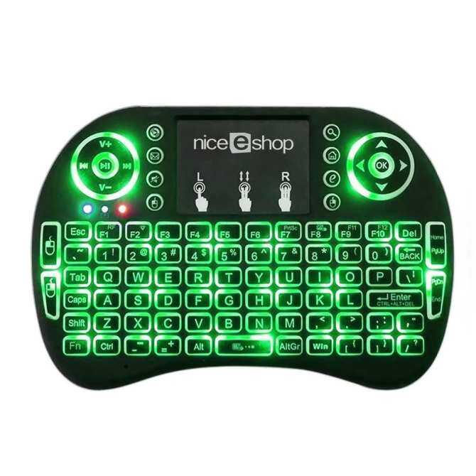 opoopv 2.4 G Mini Portable Wireless Keyboard With Touchpad Mouse Multi-media Handheld Android Keyboard