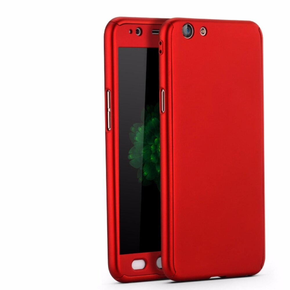 Tempered Glass Protector Untuk Oppo F1 S Anti Gores Screen Full Cover For F1s Case Bc All Around Body Coverage Protection Slim With