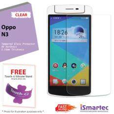 Oppo N3 Tempered Glass Protector 0 26mm + 9H Hardness (HD Clear)