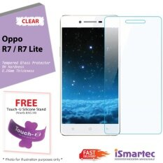 Oppo R7 / R7 Lite Tempered Glass Protector 0.26mm + 9H Hardness (HD Clear