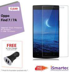 ... Anti Gores Source · Oppo X9007 Find 7 7A Tempered Glass Protector 0 26mm 9H Hardness HD