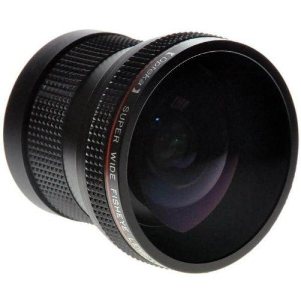 Opteka 0.20X Super Profesional AF Lensa Mata Ikan untuk Nikon D4s, D4, D3x, DF, D810, D800, d750, D610, D600, D7200, D7100, D7000, D5500, D5300, D5200, D5100, d3300, D3200 dan D3100 Digital Kamera SLR-Intl