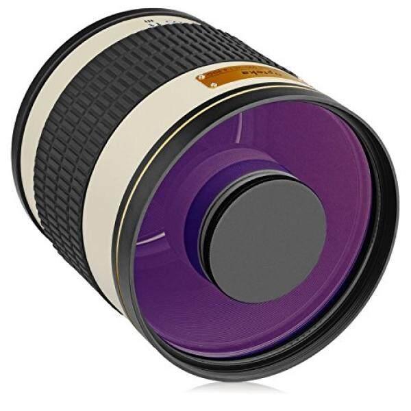 Opteka 500 Mm F/6.3 (dengan 2x-1000 Mm) Tele Lensa Kaca untuk Sony A9, a7R, A7S, A7, A6500, A6300, A6000, A5100, A5000, A3000, NEX-7, NEX-6, NEX-5T, NEX-5N, 5R, 3N dan E-Mount Kamera Digital-Internasional
