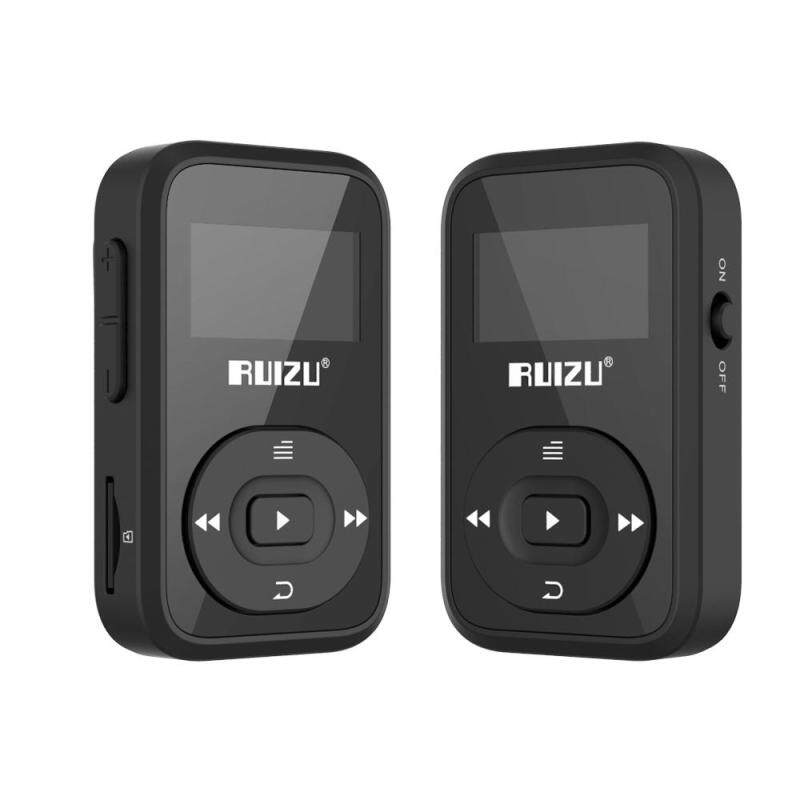 Original RUIZU X26 Clip Bluetooth MP3 player 8GB Sport mp3 music player Recorder FM Radio Support TF Card