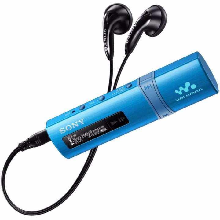 Sony Mp3 Player 4gb Walkman Nwz E383: Original Sony Walkman NWZ-B183F/L 4GB USB MP3 Player (Blue