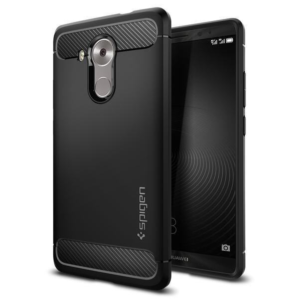 Original Spigen Rugged Armor Case Cover Casing For Huawei Mate 8 (Color:c0)