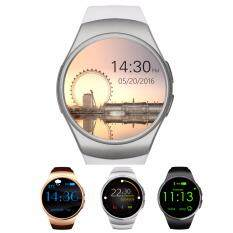 Rp 297.500. Original XbotMax KW18 Full Round IPS Heart-Rate Smart Watch Support SIM TF Card Smartwatch for ios ...