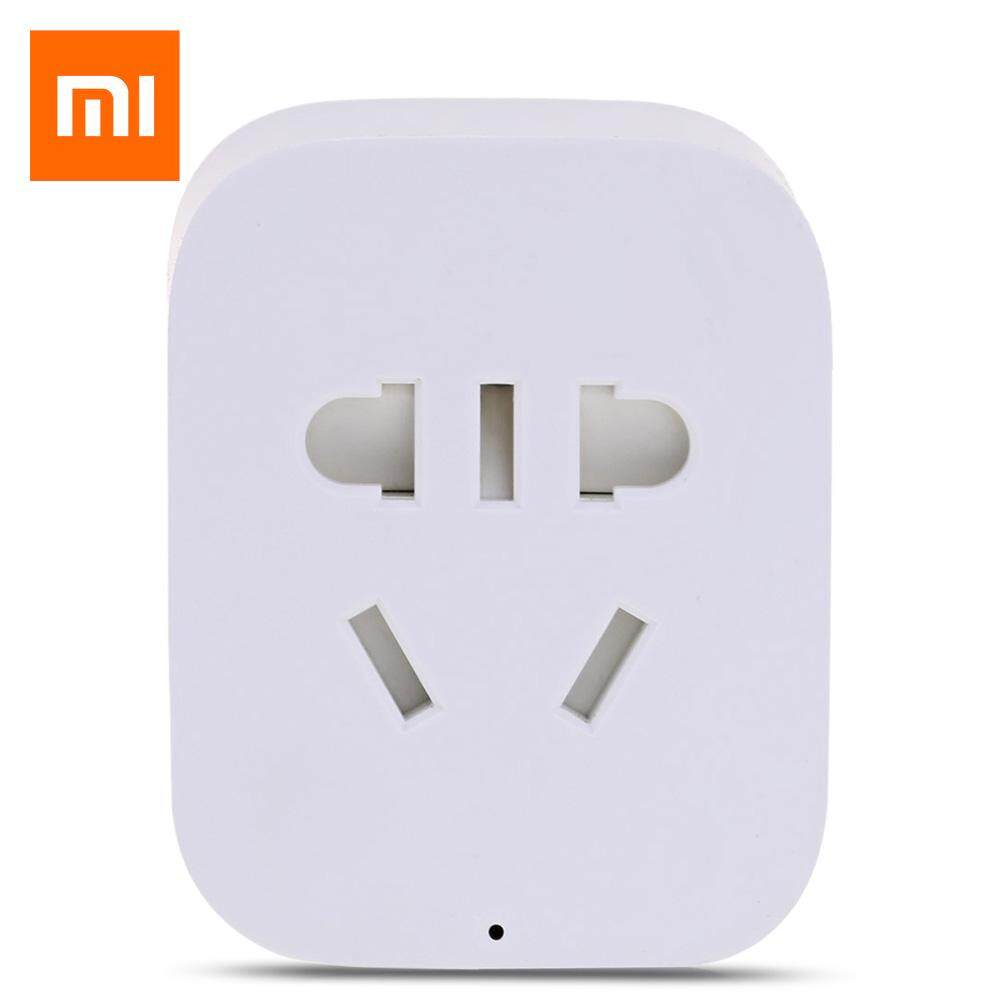 Who Sells Original Xiaomi Mi Smart Wifi Socket App Remote Control Timer Power Plug Intl