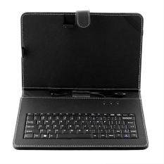 Oscar Store 9.7 Leather Stand Tablet Keyboard Protective Case Cover Holder With Micro USB Malaysia