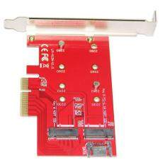 Oscar Store PCI-E 4X 16X To M.2 NGFF SSD Adapter Hard Disk Extension Converter Cards Red Malaysia