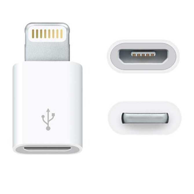 OTG Micro Adaptor Usb Mikro Kabel untuk Lampu 8 Pin Kabel Data Isi Ulang Sinkronisasi Kabel untuk Ponsel-Intl