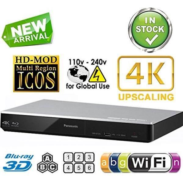 Panasonic DMP-BDT270 2 K/4 K Multi Wilayah Semua Sistem Blu Ray Disc Dvd Player-Pal/NTSC-2D /3D-Wi-fi-100 ~ 240 V 50/60Hz Di Seluruh Dunia Menggunakan & 6 Kaki kabel HDMI Termasuk-Intl
