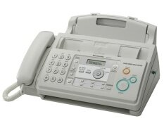 Panasonic Kx-Fp701 Kxfp701 Kx-Fp701ml Plain Paper Fax Machine (white) By Palsmart.