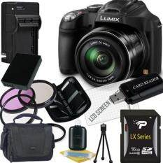Panasonic Lumix DMC-FZ70 Digital Camera + 16GB SDHC Memory Card + USB SDHC Memory Card Reader + UV FILTER 55MM + CC UV, Florescent, Polarizer Filter Kit (Protect Your Lens!) + Weather Resistant Carrying Case w/Strap + Memory Card Wallet + Two Recharg