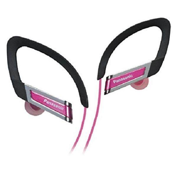 Panasonic RPHS220P Inner Ear Clip Sports Earphones with Extension Pink Discontinued by Manufacturer .