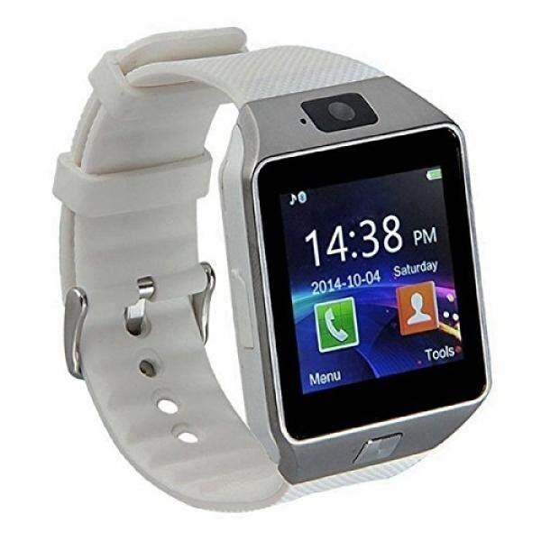 Pandaoo Dz09 Bluetooth Pintar Jam Tangan MIT Kamera Für Samsung, HTC, sony Und Andere Android Smartphone Schrittzähler Kebugaran Tidur Monitor Anti Hilang Freisprecheinrichtung Panggilan Nachricht Fernbedienung Benachrichtigt,-Internasional