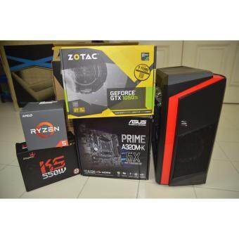 PC GAMING ( AMD RYZEN 5 2400G / 8GB DDR4 RAM / GTX 1050TI 4G  / 240GB SSD )
