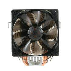 PCCOOLER 5 Heatpipes Radiator Quiet 4pin CPU Cooler Heatsink Fan Cooling with Dual 120mm LED Fans for Desktop Computer Malaysia
