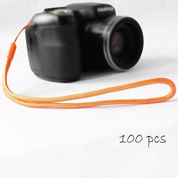 Pctc Hot-selling Universal 100 PCS Orange Camera Nylon Wrist Strap Lanyard /Hand Strap Grip for Canon Powershot N Sx410 Sx400is G16 - intl