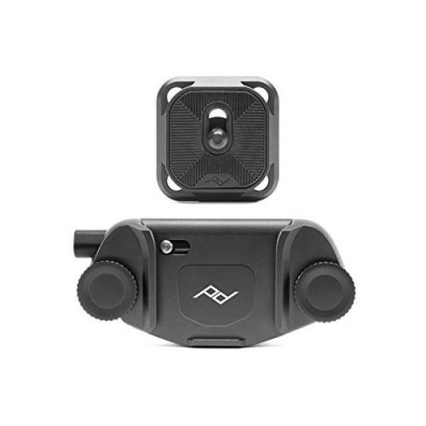 Pd Puncak Desain Puncak Desain Kamera Penangkap Klip V3 Solo (Klip Hitam)-Intl